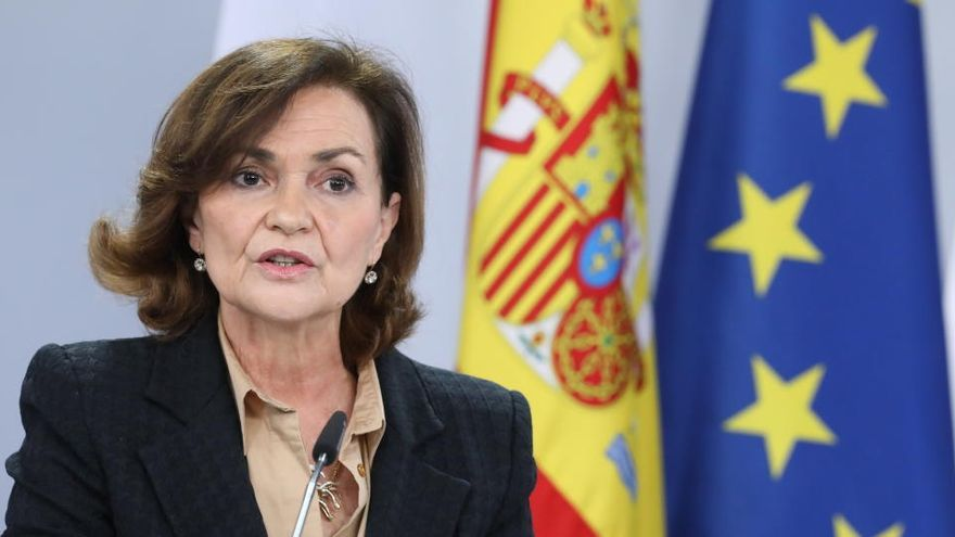 """Calvo dice que Sánchez hará ajuste """"puntual"""" del Gobierno cuando se vaya Illa"""
