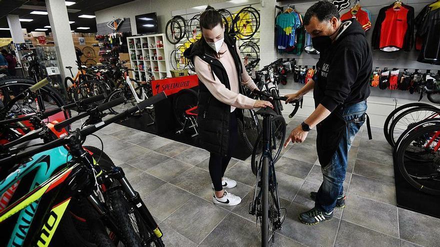O se lleva esta bici... o si le gusta otra espera 6 meses