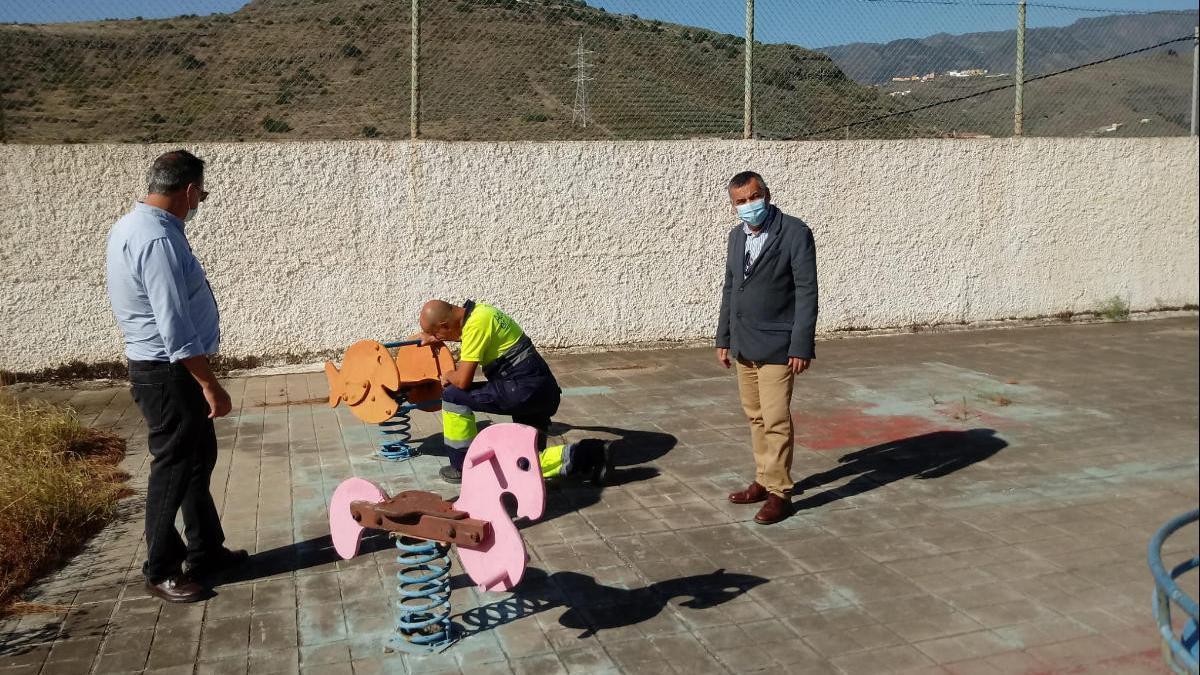 Arrancan las obras del nuevo parque de La Solana