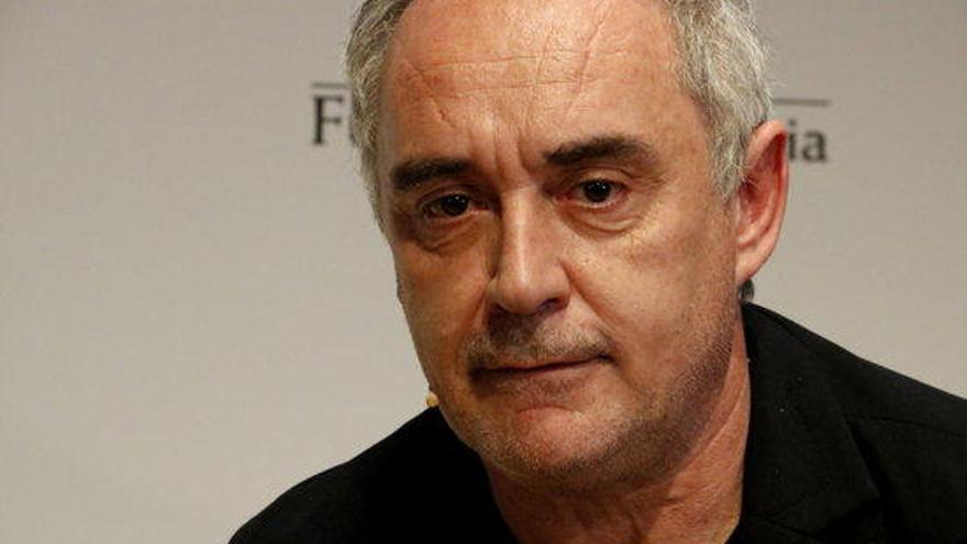 Ferran Adrià: «El Bulli no torna perquè no ha marxat mai»