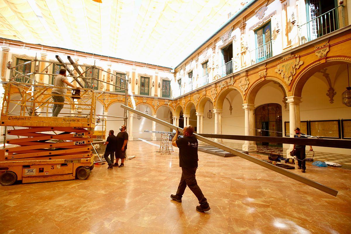 La propuesta del colectivo Tableau en la Diputación genera expectación
