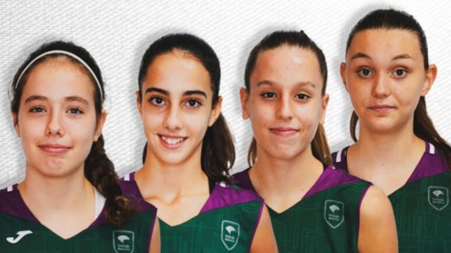 Siete malagueñas, con España U12, U13 y U14 femenina de baloncesto