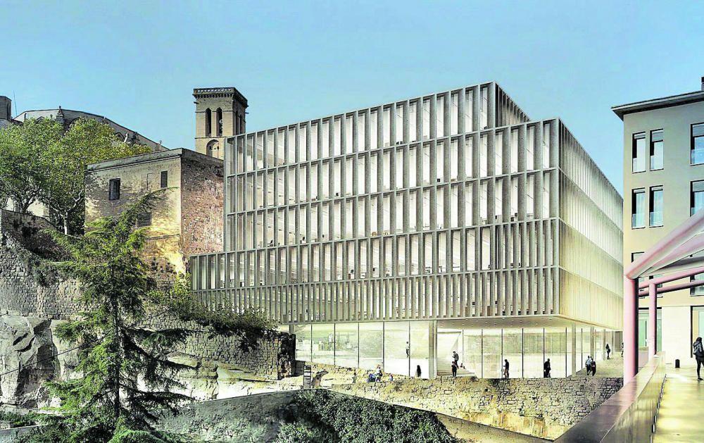 El disseny trencador de la seu del Govern a Manresa capgirarà un espai rònec