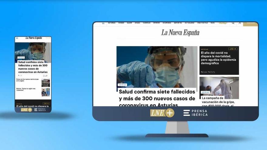 La web de LA NUEVA ESPAÑA estrena diseño, una experiencia multidispositivo más dinámica y sencilla