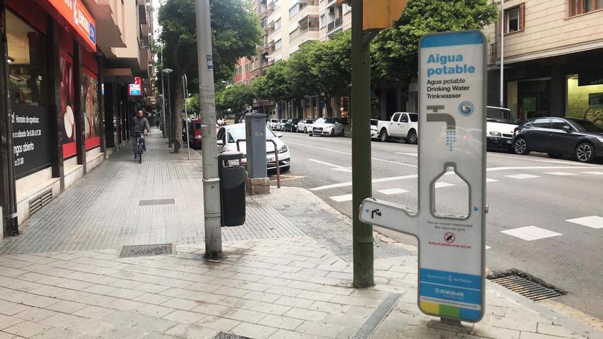 Emaya instala otras siete fuentes de agua potable filtrada