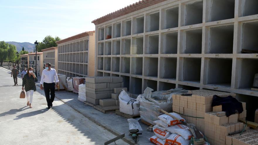 Benidorm amplía la capacidad del cementerio de Sant Jaume con 120 nuevos nichos