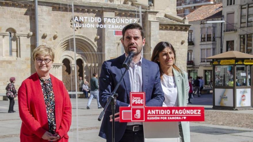 """Fagúndez asegura que el PSOE """"siempre estará al lado de los ayuntamientos"""""""