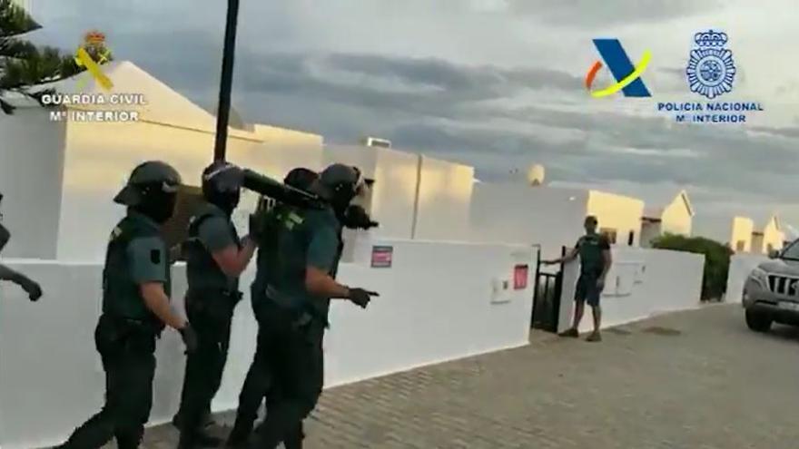 Detenidas seis personas tras la incautación del mayor alijo de droga efectuado en Canarias