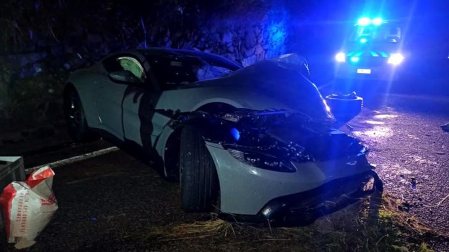 Así era el Aston Martin de 200.000 euros que el youtuber Salva destrozó en un accidente a los 15 días de comprarlo