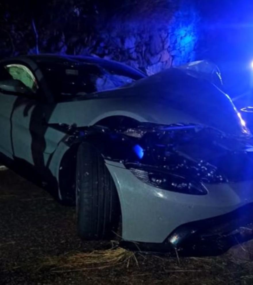 Así era Aston Martin que el youtuber Salva destrozó en un accidente a los 15 días de comprarlo