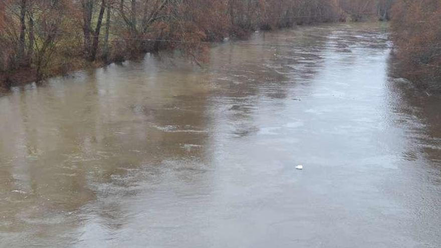 Alerta por la crecida del Tera en Puebla y del río Negro en Santa Eulalia