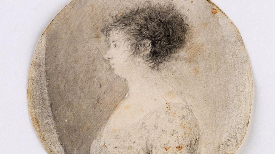 La Universidad de Lérida saca a la luz un retrato a lápiz inédito de Francisco de Goya