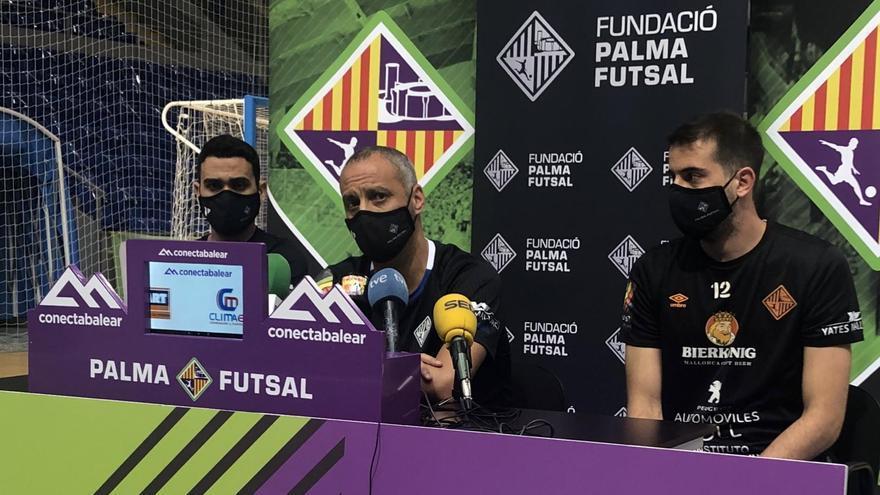 Vadillo, Tomaz y Fabio hablan del partido de play-off en Zaragoza