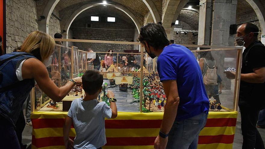 La Fira Playmobil sorprèn el públic a Manresa recreant escenes històriques