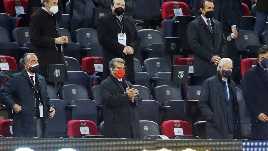 Joan Laporta formalitza l'aval que li permetrà  ser president del Barça