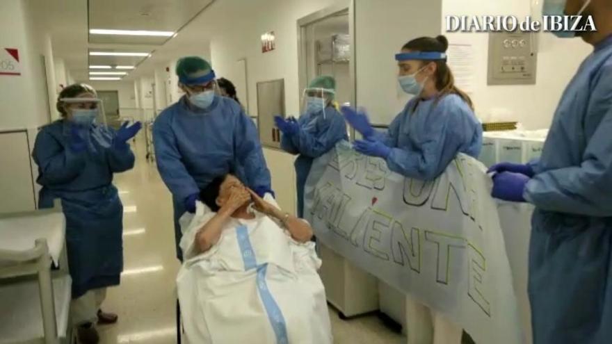 La ibicenca Margarita, de 88 años, supera el coronavirus