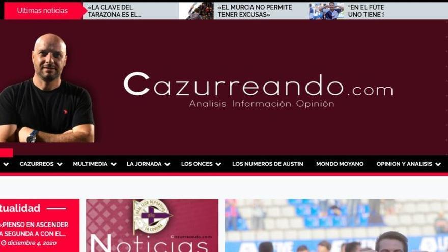 Nace una nueva web especializada en la Segunda División B del fútbol español