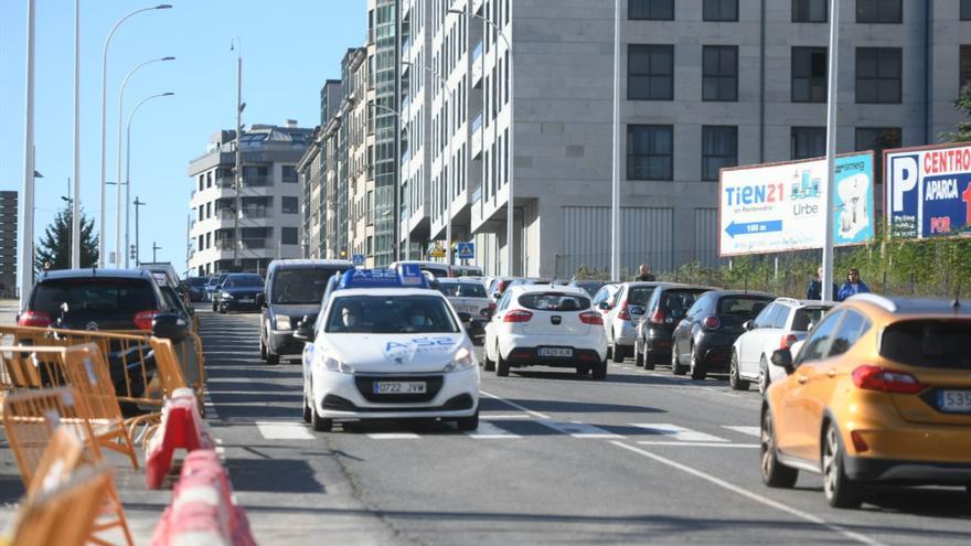 La calle José Malvar ya está abierta al tráfico