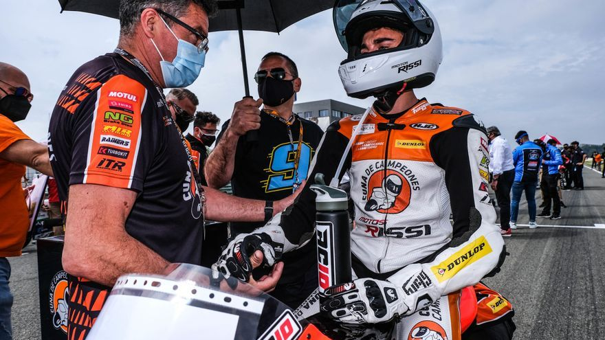 Adrián Cruces debutará en el Mundial Júnior de Moto3 en Misano