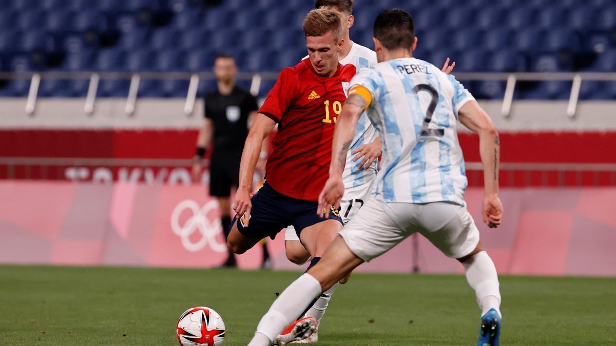 Las mejores imágenes del España - Argentina de los JJOO