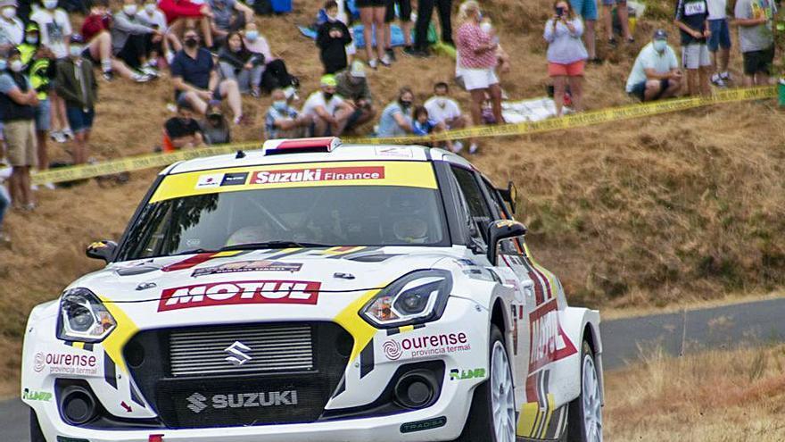 La 54 edición del rally de Ourense realizará los test previos en Barbadás
