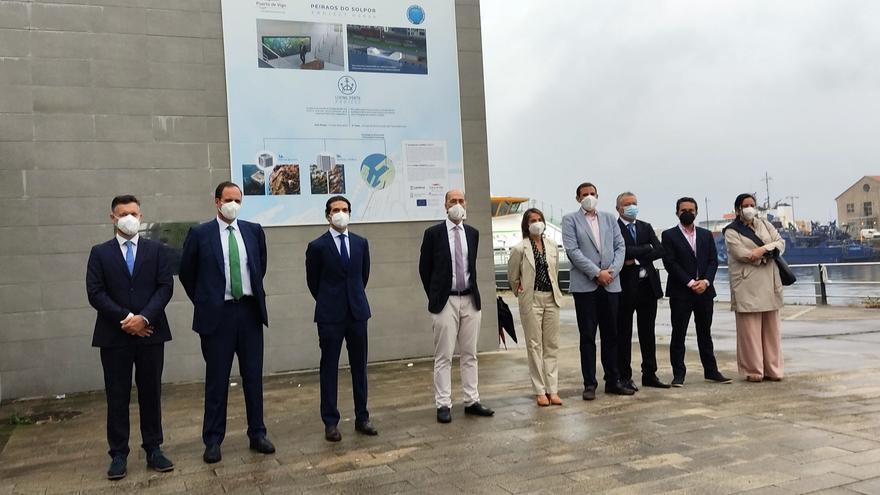 El Puerto vigués instalará otros cien microarrecifes para impulsar la biodiversidad marina