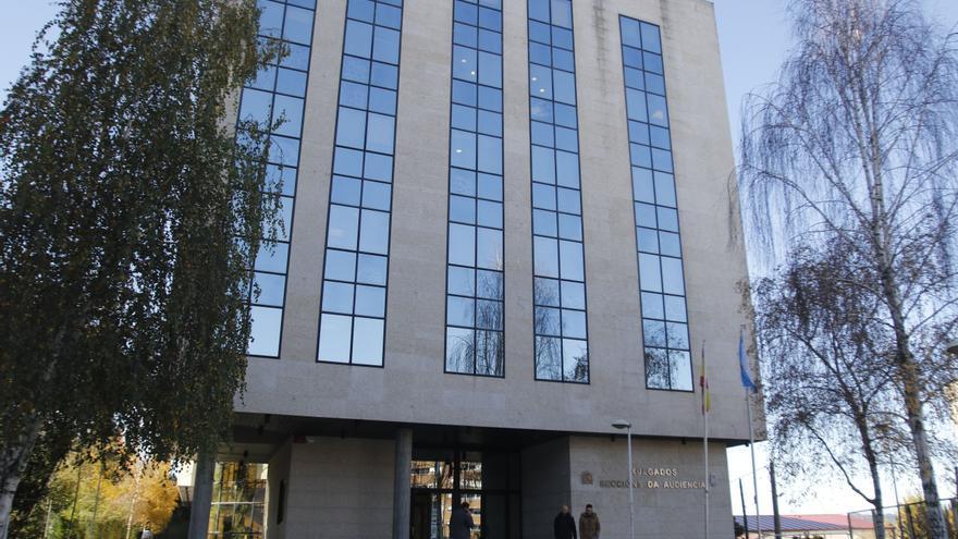 Cerrada la Sección Sexta de la Audiencia en Vigo por el positivo de una funcionaria