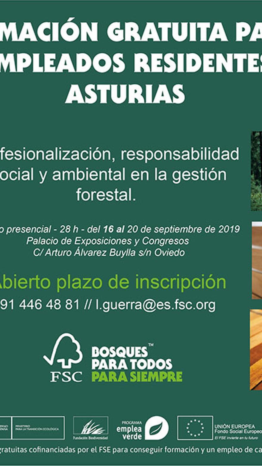 Cursos Gratuitos En Oviedo Para Desempleados Gestion Forestal