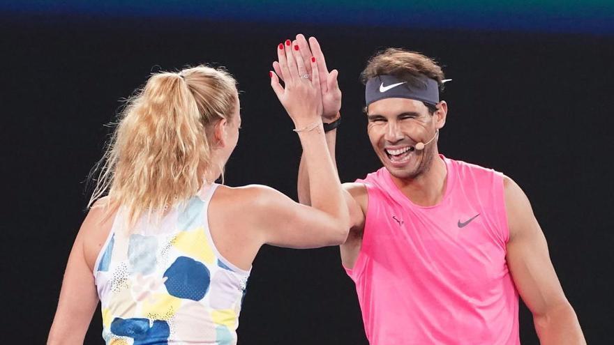 Nadal y Federer donan más de 150.000 euros para ayudar a los afectados por los incendios en Australia