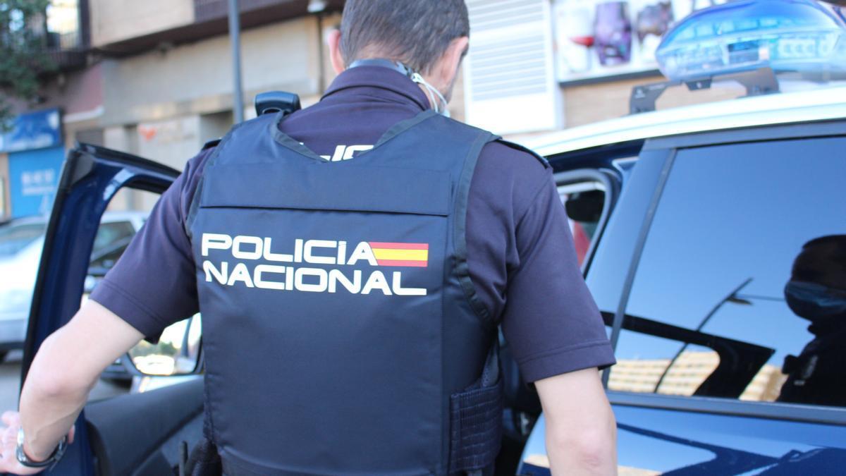 Agente de la Policía en imagen de recurso