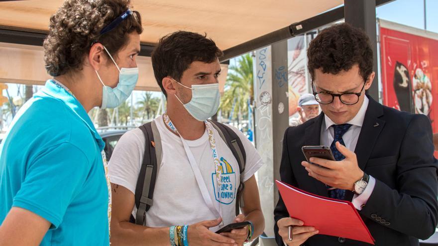 Dan positivo 64 de los 249 jóvenes confinados en Mallorca