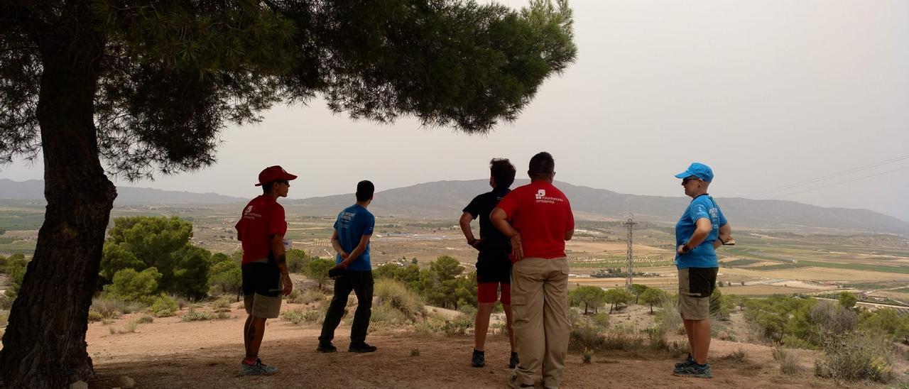 Voluntarios de Medio Ambiente de Pinoso.