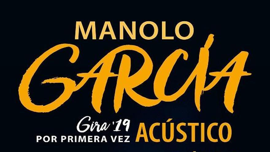 Manolo García llegará a Mallorca en abril con su gira acústica