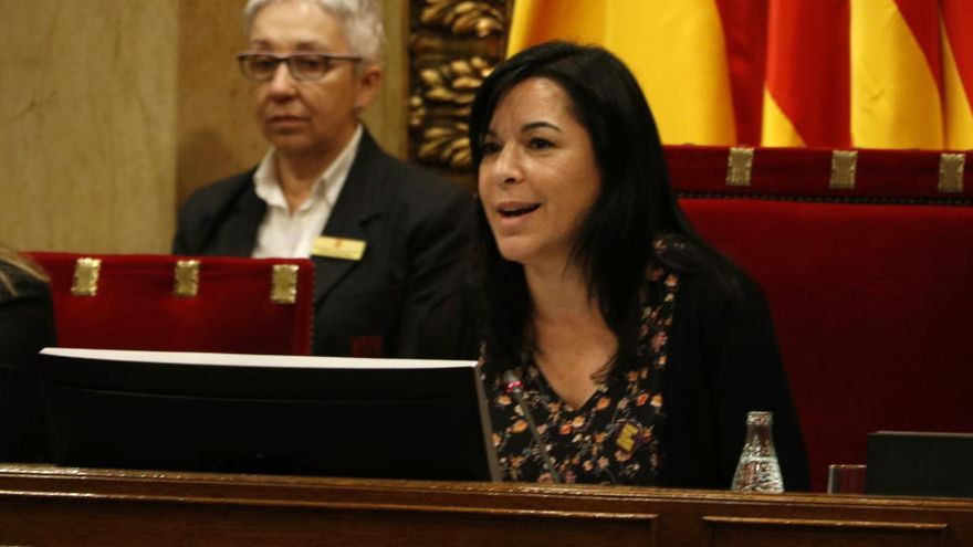 El TSJC admet a tràmit la querella de la fiscalia contra Adriana Delgado i els membres de la Mesa