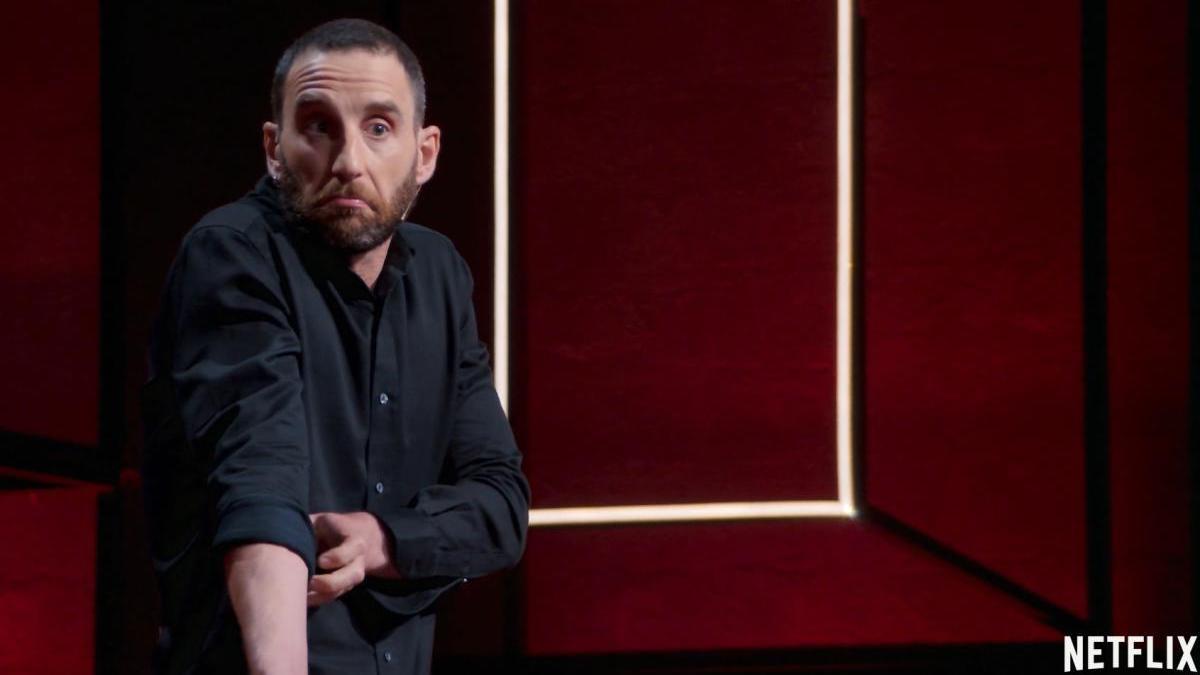 Dani Rovira lleva el teatro a Netflix.