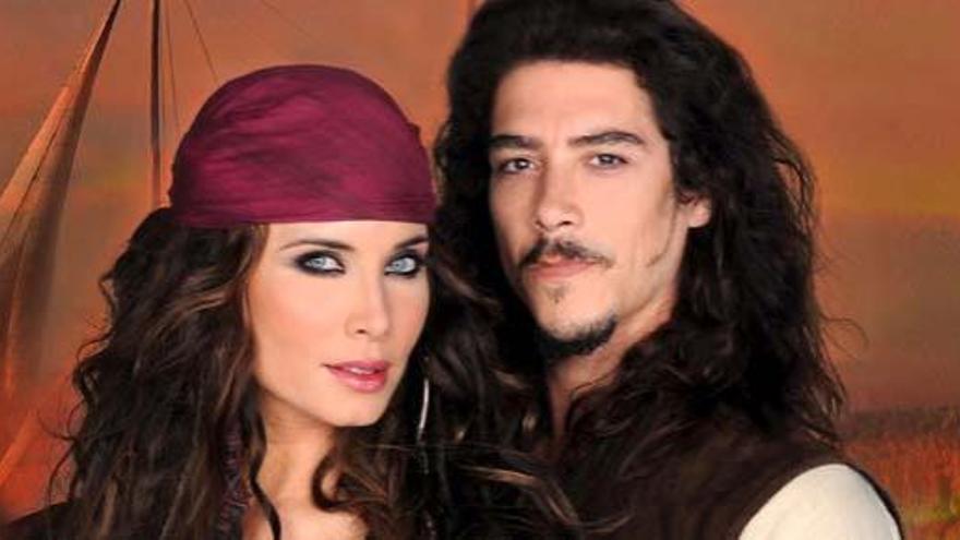 Los 'Piratas' de Pilar Rubio abordan con bravura la parrilla
