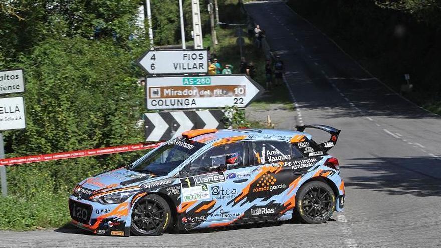 Rallye Blendio Santander: Última edición, hoy, con ocho tramos cronometrados y con Ares, López y Puras como favoritos a la victoria