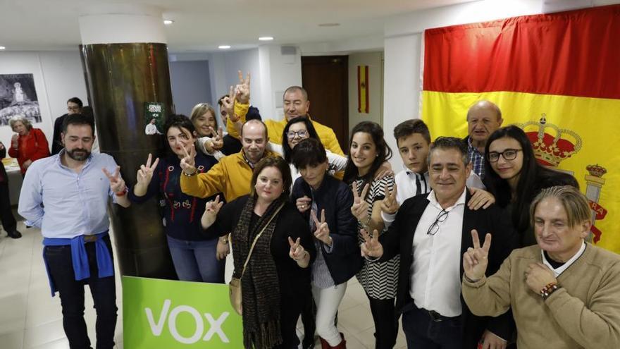 Noche electoral en Asturias: así se vivió en Vox