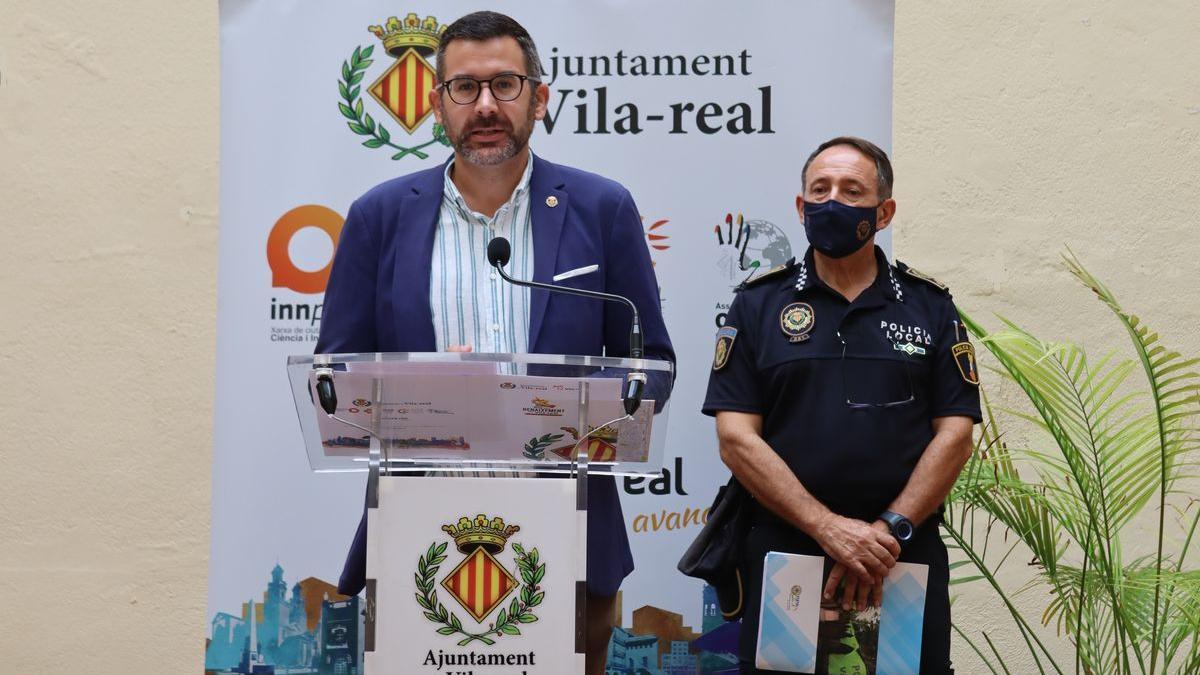 Vila y Nieto hicieron balance de los festejos que concluyeron el domingo con dos castillos de fuegos.