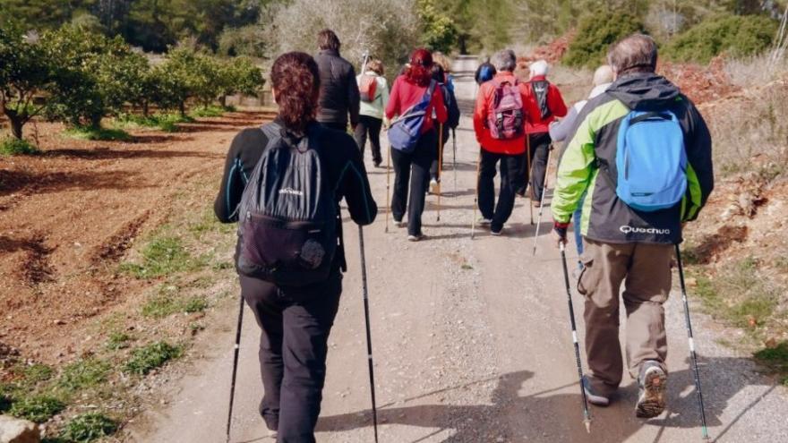 Sant Josep programa una nueva edición de las rutas de marcha nórdica