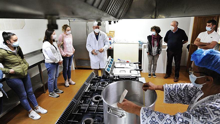 Formación en la elaboración y el análisis sensorial de los quesos