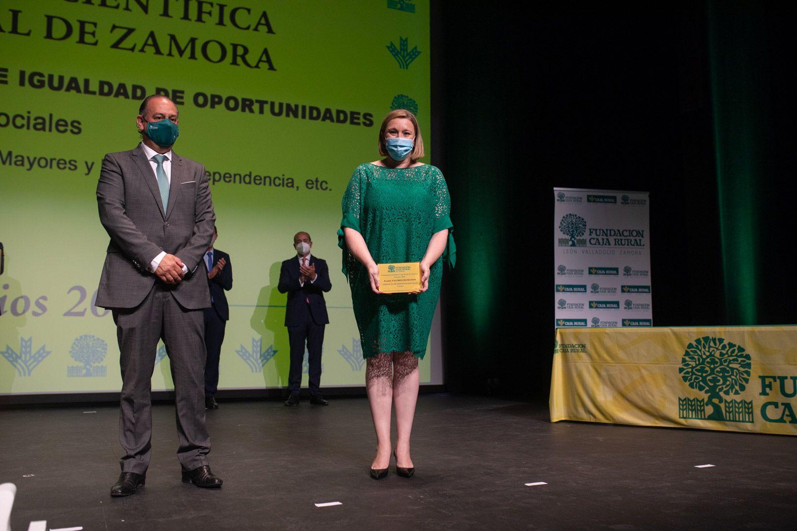 GALERÍA | Las mejores imágenes de la entrega de los Premios de la Fundación Científica Caja Rural