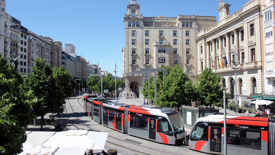 Los usuarios dan un 8,34 de nota al servicio de los Tranvías de Zaragoza