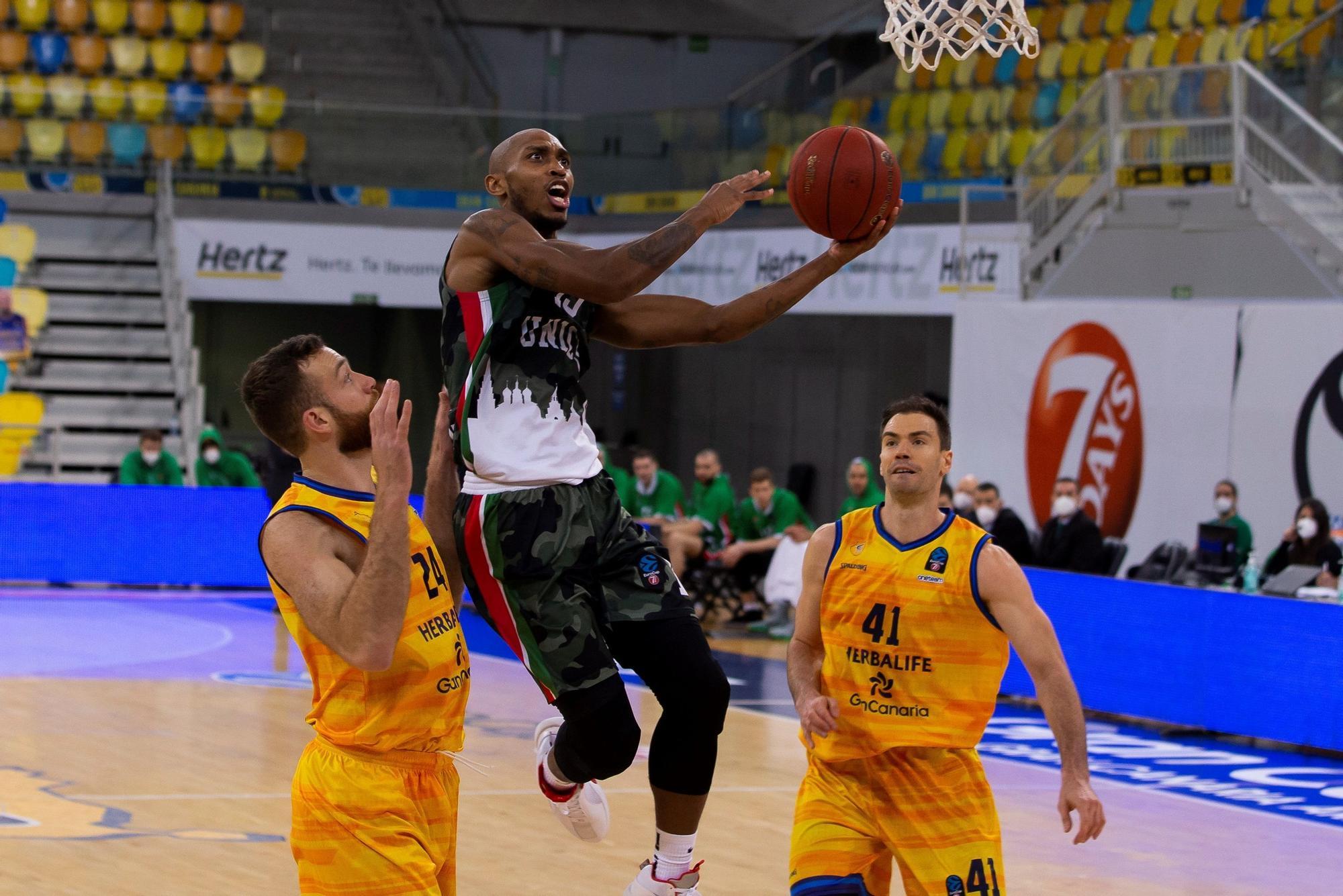 Eurocup: Herbalife Gran Canaria - UNICS Kazan