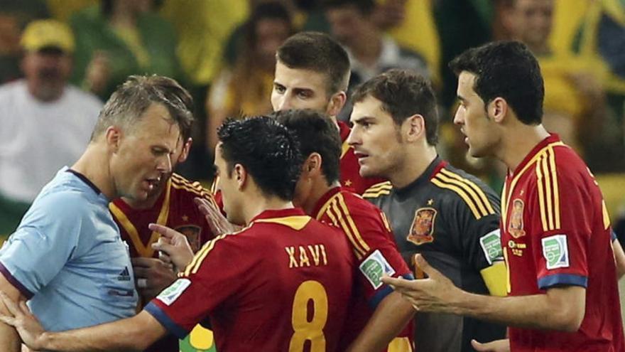 Kuipers será el colegiado del duelo entre España y Rusia