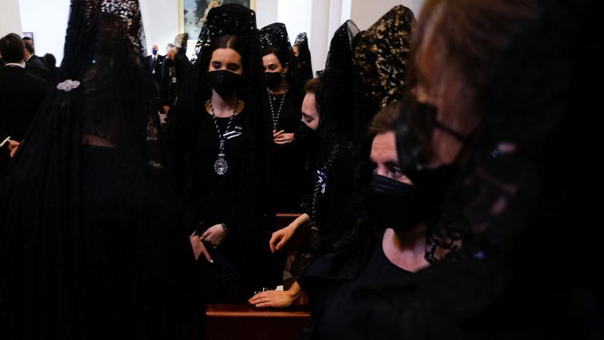 Celebración de la Soledad de María en Santo Domingo | Semana Santa de Málaga 2021