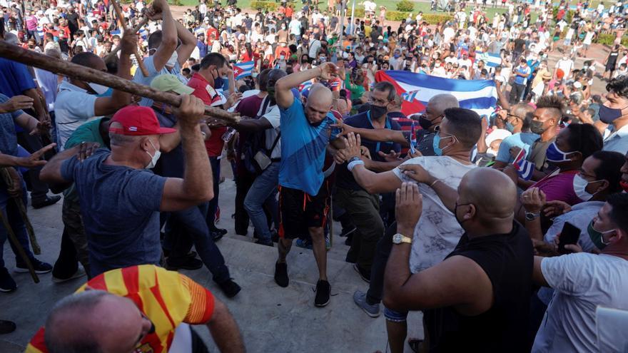 Protestas en La Habana