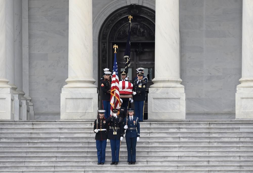 Funeral de George H.W. Bush en Washington