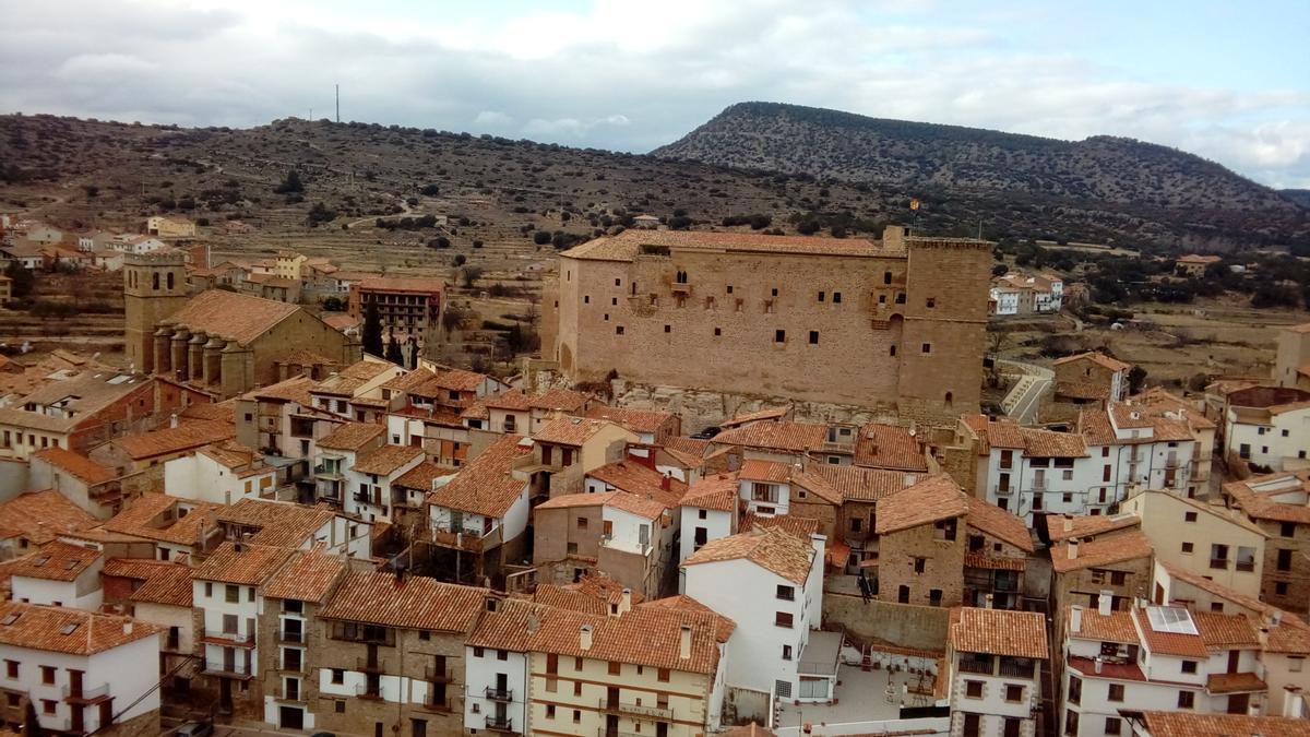 Vista de Mora de Rubielos.