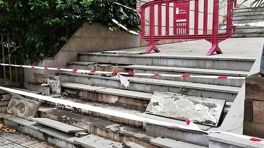 Reparación de escaleras en Candás